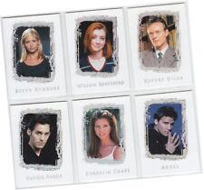 """Buffy Vampire Slayer: Story So Far - 6 Card """"Classic Quotes"""" Chase Set CQ1-CQ6"""