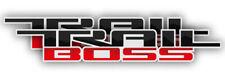 GMC SILVERADO TRAILBOSS STICKER Z71 OFF ROAD 4X4 CHEVY TRUCK TRAIL BOSS DECAL