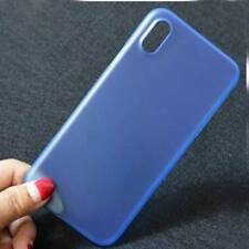 Ultra Thin Matte Shockproof Clear Hard Case Cover For Apple iPhone X 8 6s 7 Plus