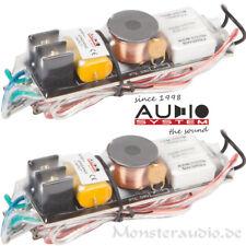 Audio System FWK Hochton-Kabelweiche Lautsprecher Frequenzweiche 4x Anpassung