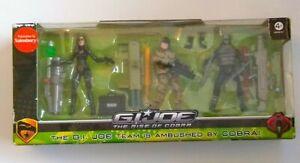GI Joe-Rise of Cobra. GI Joe team is Ambushed by Cobra. Duke.Baroness.Neo-Viper