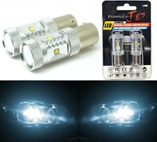 LED Light 30W 1156 White 6000K Two Bulbs Rear Turn Signal Replacement Stock JDM