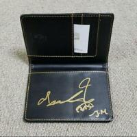 BTS Passport case with autograph Jimin Exclusive FC novelty from Japan F/S