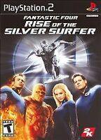 NEW Fantastic Four 4: Rise of the Silver Surfer (Sony PlayStation 2, 2007) PS2