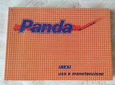 Libretto Uso e Manutenzione Fiat Panda edizione V/91