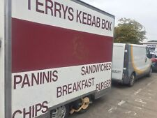 Fully fitted operating Mobile Catering Trailer for sale