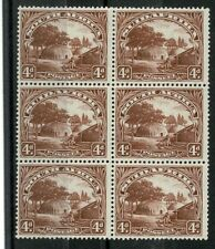 SOUTH AFRICA 1927 Sc 28 BLOCK OF 6, 2 PAIRS MNH
