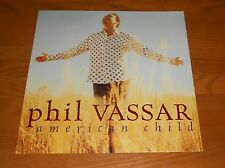 Phil Vassar American Child Poster 2-Sided Flat Square Promo 12x12