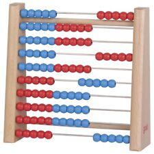 Rechenrahmen mit 100 Perlen Abakus Kinder rechnen lernen goki 58529