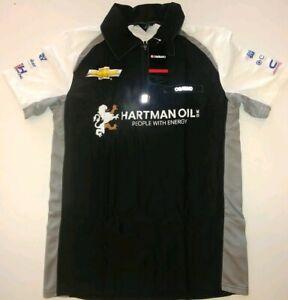 Ed Carpenter Racing CFH Hartman Oil Mens Podium Polo New Large