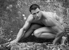 """018 Greg Plitt - American Fitness Model Actor 19""""x14"""" Poster"""