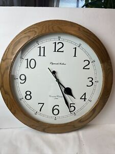 "sath thomas plymouth hollow Wall clock Westminster whittington chime 18""(RARE)BV"