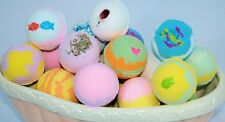 Bath Bomb Fizzy.. 14 Pack of Fizzies.. 3 oz. with mixed Scents & Colors  Lot.,.