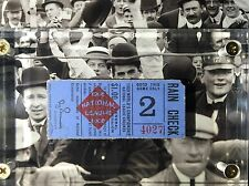 1907 1908 World Series Tickets Chicago Cubs Detroit Tigers Sox Ty Cobb