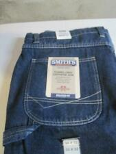 SMITH'S WORKWEAR FLANNEL LINED CARPENTER JEANS 38 X 32 *NEW*