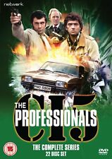 THE PROFESSIONALS the complete series 1 2 3 & 4 box set. 22 discs. New DVD.