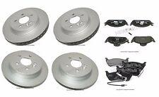 Set of Rear & Front Brake Pad Set Jurid For Mercedes W163 ML320 ML350