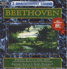 Beethoven: Symphonies 5 & 6 (Pastoral) - Weingartner/Walter