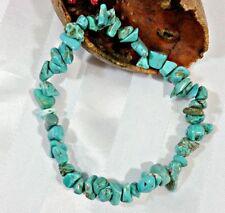 Turquoise Lab-Created/Cultured Costume Bracelets