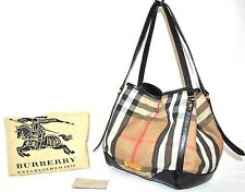Burberry Signature Bridle House 'Canterbury Tote,Pre-owned VI(See Condition)$895