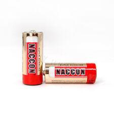 2 x LR1 LADY 1.5V Alkaline Battery AM5 E90 N KN 910A MN9100 NACCON Red