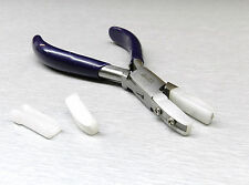 """Flat Nose Pliers Nylon Jaws 5-3/4"""" Wire Working Jewelry Pliers Wire Wrapping"""