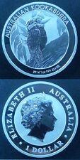 AUSTRALIA. Año 2014. 1 Dólar. Plata 1 onza Troy. Peso 31,10 gr. Ley 999/1000.