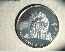 2006 Canada, Wolf , Commemorative, 1/2 oz  High Grade Silver  (Can-314)