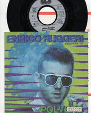 ENRICO RUGGERI disco 45 giri STAMPA TEDESCA Polvere + scheda INFO promo GERMANY
