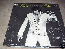 Elvis Presley; That's The Way It Is on LP RCA LSP-4445