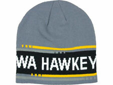 Iowa Hawkeyes NCAA Nike Game Time Beanie Hat Cap Knit Charcoal NWT $25
