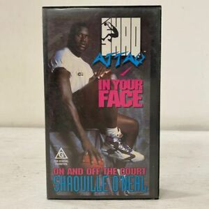 Shaquille O'Neal - Shaq Attaq - In Your Face - VHS Video Tape - Basketball 90s
