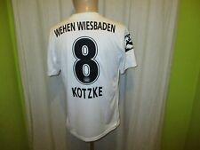 "SV Wehen Wiesbaden Nike Matchworn Trikot 2015/16 ""BRITA"" + Nr.8 Kotzke Gr.M"