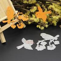 Bird Metal Cutting Dies Stencil Scrapbook Paper Card Craft Embossing DIY Die-Cut