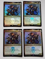 Firesong and Sunspeaker MTG - Dominaria Buy-A-Box Promo Foil x 4 - NM