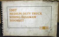 1987 Chevrolet Electrical Wiring Diagram Dealer Service Manual Medium Duty Truck