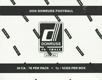 2020 Donruss Football NFL Trading Cards Sealed Fat Pack Box 12 Packs