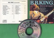 B.B. King - CD - Rock Me Baby - CD von 1989 - ! ! ! ! !
