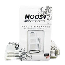 Noosy 3 in 1 Nano Micro Standard SIM Card Adapter Set with Ejector Pin