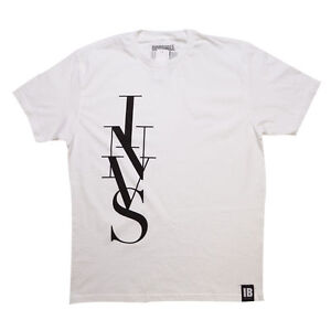 "Invisible Bully New York ""INVS TOWER"" White Mens T - Shirt Biggie Smalls B.I.G."