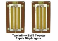 PAIR (2) Infinity EMIT Tweeter Repair Parts • Vintage TWO Pieces • NEW Parts!