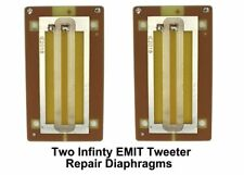 PAIR (2) Infinity EMIT Tweeter Repair Parts • TWO Pieces • NEW Revision 1.0