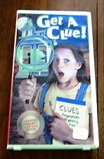 Get A Clue! (VHS, 1998, Small Clamshell) Ray Walston Ashley Peldon Diane Ladd