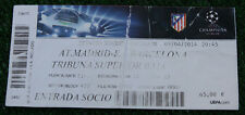 Ticket for collectors CL Atletico Madrid - FC Barcelona Spain 2014