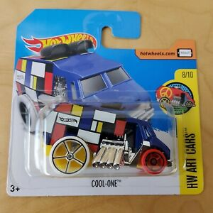 HOT WHEELS FORD COOL ONE HW ART CARS 8/10 2017 BRAND NEW ON CARD