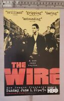 The Wire TV Show RARE Print Advertisement
