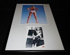 Steffi Graf Signed Framed 12x18 Swimsuit Photo Display