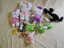 TOY LOT HELLO KITTY STUFFED ANIMALS
