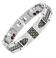 Therapeutic Energy Healing Bracelet Titanium Magnetic Therapy Bracelet BioEnergy