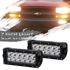 Dual Row 7inch 360W Pods LED Work Light Bar Spot Offroad ATV SUV 4WD PK 36W